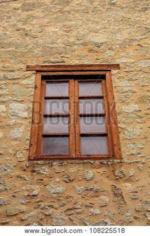 Single Wood Framed Window
