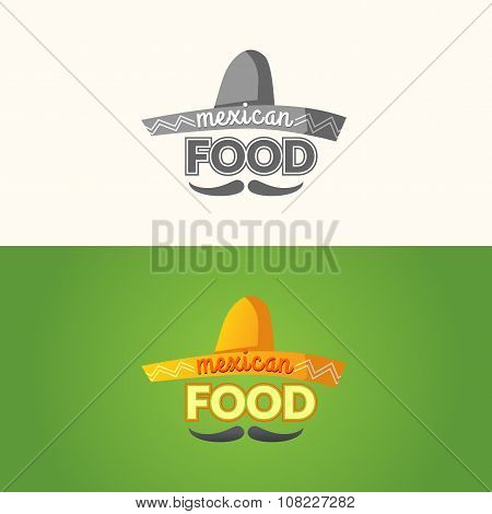 The Logo Of Mexican Food.