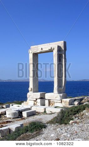 Naxos Temple Of Apollo