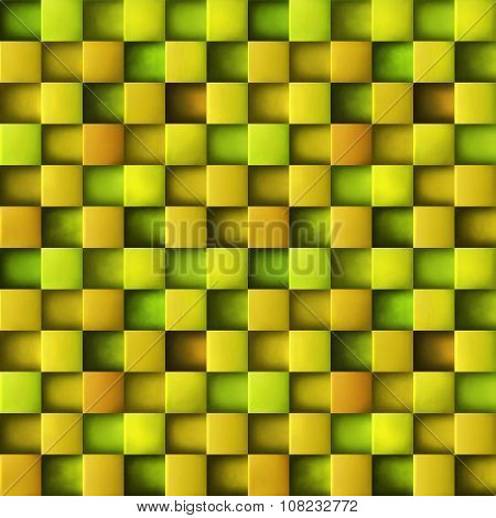 Seamles geometric cube 3d background