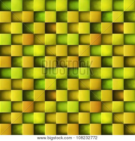 Seamles geometric cube 3d background