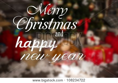 Marry Christmas and happy New Year wishes.