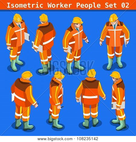 Construction 02 People Isometric