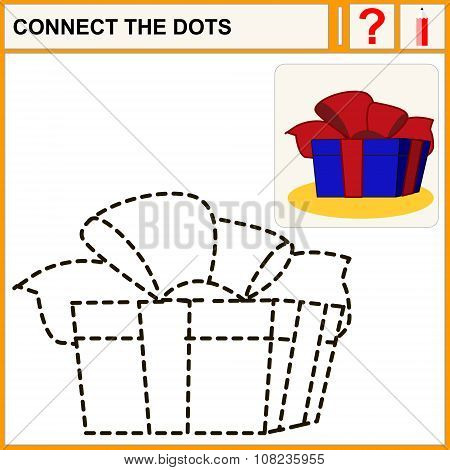 Connect the dots preschool exercise task for kids great gift