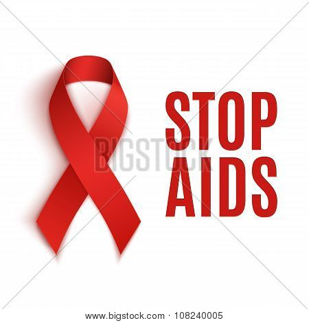 Stop AIDS background.