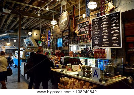 Gansevoort food market New York