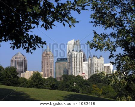 Midtown Atlanta Framed