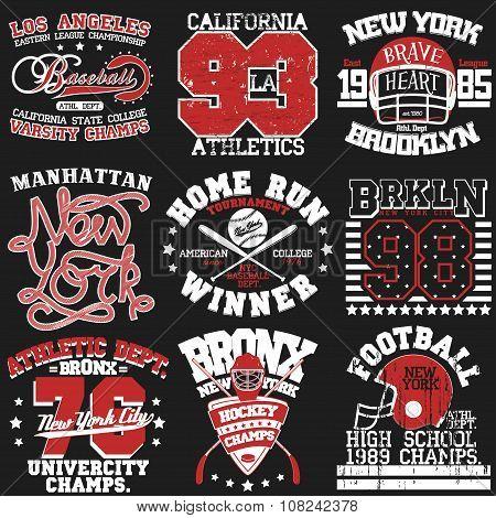 Sport t-shirt set