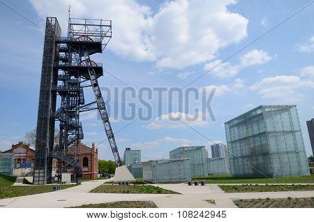 Old mine shaft, Katowice