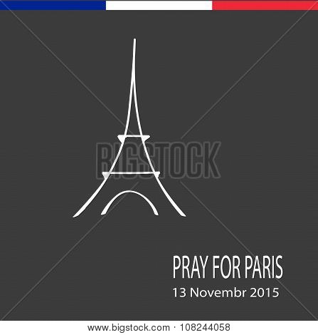 November 13, 2015 Pray for France, a day of mourning