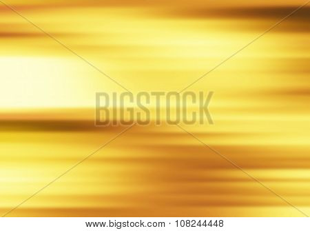 Motion On Gold Background, Yellow Abstract Background.