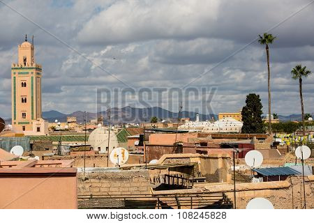 Roofs Of Marrakesh