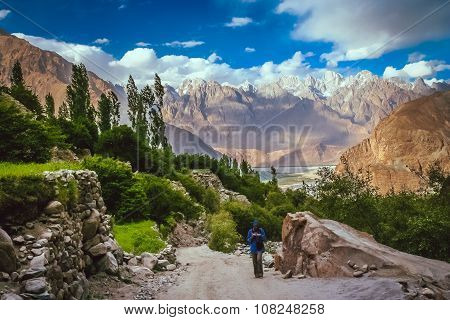 Trekking in the Central Karakorum National Park