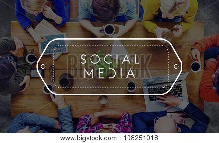 Social Media Network Web Online Internet Concept