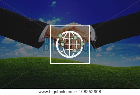 Global Community International Worldwide World Connected