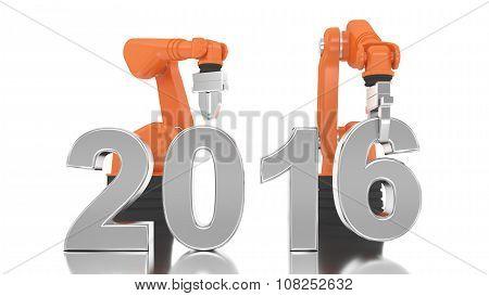 Industrial Robotic Arm Building 2016