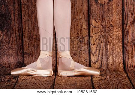 The First Position In Ballet.
