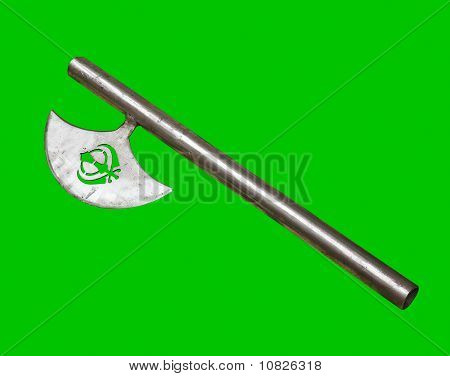 Sikh Hatchet - Clipping Path