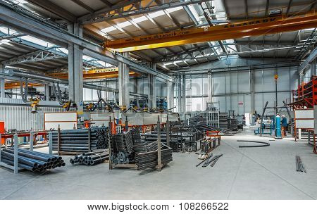 Plastic pipe factory