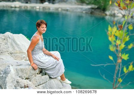 Woman At The River