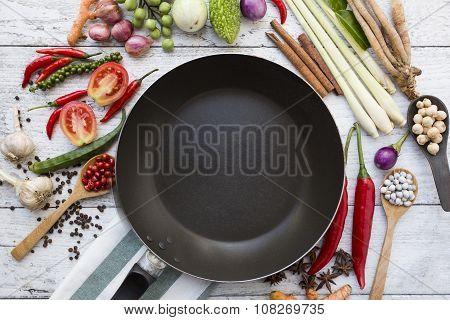Thai Food Ingredients, Vegetable, Spicy Taste