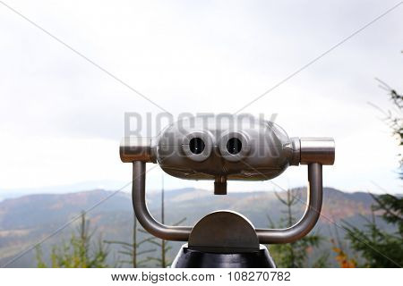 Telescope for watching mountains