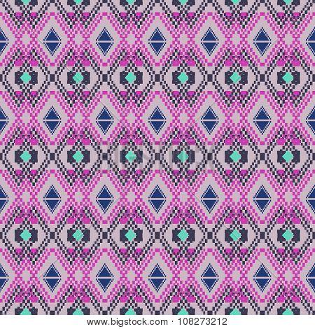 Ethnic Tribal Geometric Pattern