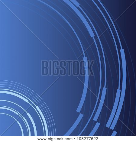 Presentation Business Background Blue Booklet Cover