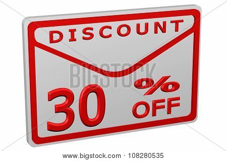 Envelope With Sign Discount 30 % Off