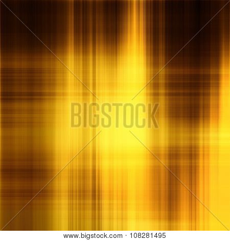 Art Abstract Geometric Pattern Blurred Background In Gold, Brown And Yellow Colors