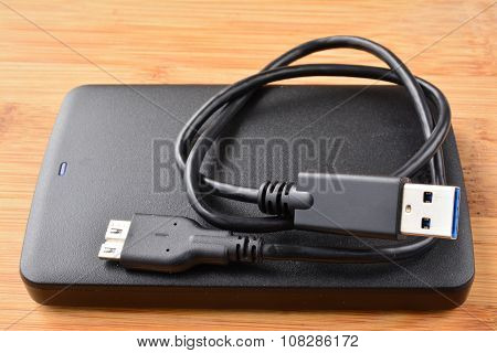 Flat External Usb Hard Disc