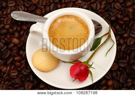 Coffee With  Rose