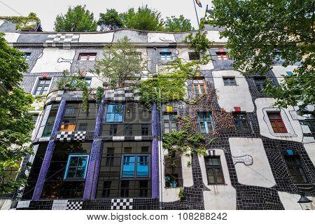 Hundertwasser Museum In Vienna