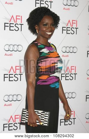 LOS ANGELES - NOV 12:  Adepero Oduye at the AFI Fest 2015 - Presented by Audi - The Big Short Gala Screening at the TCL Chinese Theater on November 12, 2015 in Los Angeles, CA