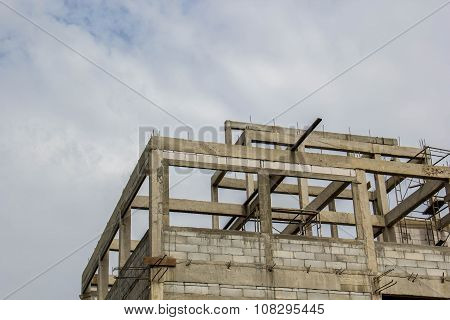 Concrete Strengthening Of Highrise Construction Site