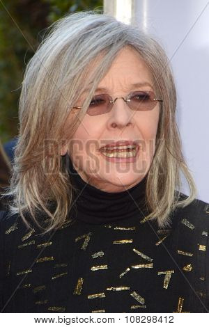 LOS ANGELES - NOV 12:  Diane Keaton at the