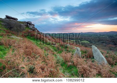 Sunset From Helman Tor