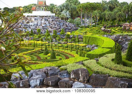Nong Nooch Tropical Botanical Garden, Details, Thailand