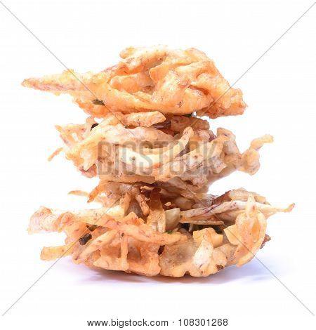 Fried Taro Chips, Appetizer, Vegetarian Festival