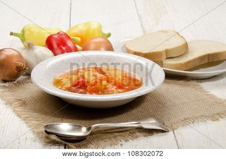 Hungarian Letscho With Sweet Peppers