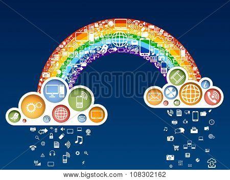 Rainbow Of Icons
