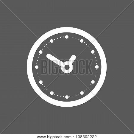 black clock icon