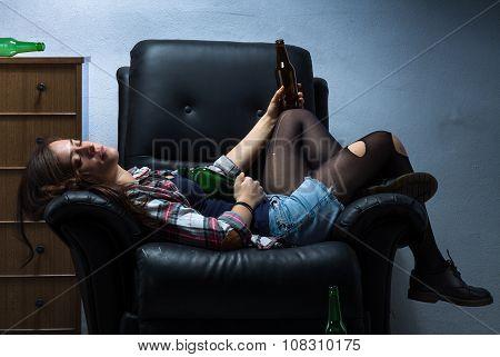 Drunk Woman