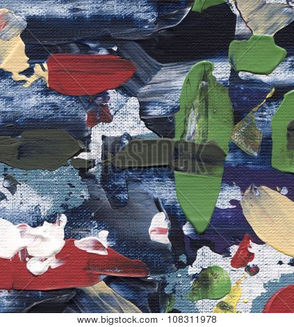 acrylic on canvas, abstract background, art texture