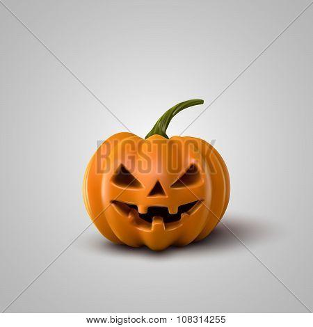 Vector Halloween Pumpkin.
