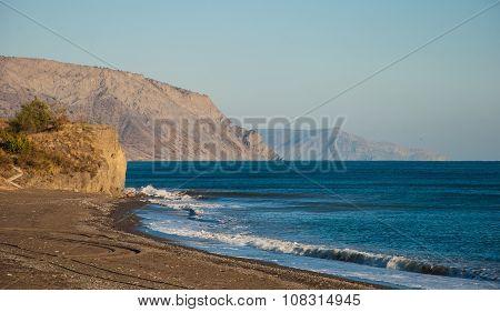 Sea Crimean landscape