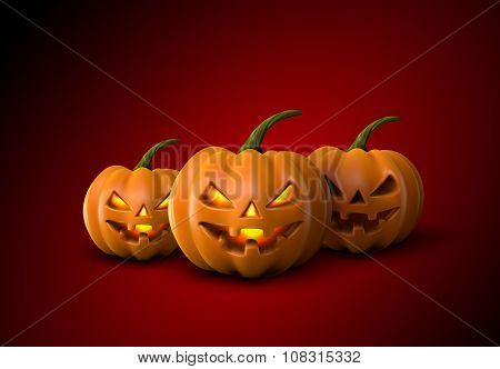 Halloween Pumpkins. Jack Lanterns.
