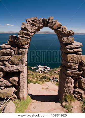 Amantani Island On Lake Titicaca, Peru South America