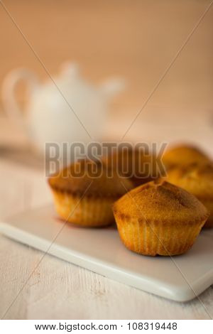 Muffins And Teapot