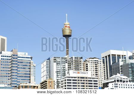 Sydney Centre Point tower and cityscape
